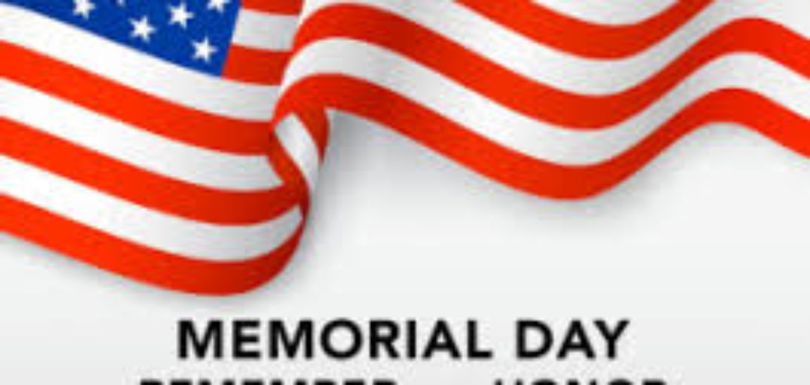 M️emorial Day 2019