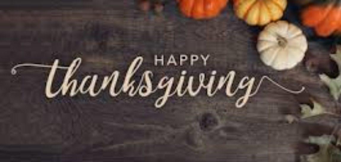 Thanksgiving 2019 Service Alert